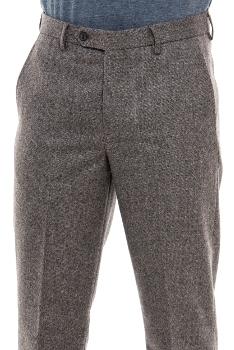 мъжки-елегантен-дълъг-панталон-вълнен-бежов-208- А
